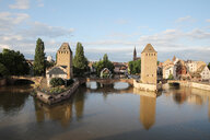 France, Alsace, Strasbourg, Old town, covered bridges, Ponts couverts - KLRF00606