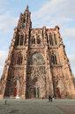 France, Alsace, Strasbourg, Strasbourg Cathedral - KLRF00609
