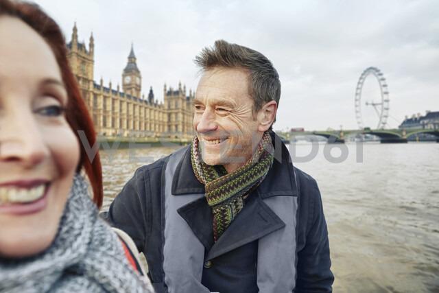 Mature couple sightseeing, London, UK - CUF33938