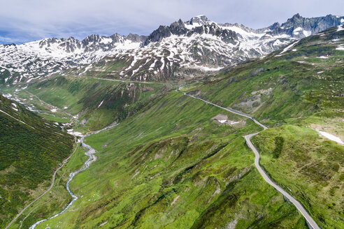 Switzerland, Canton of Uri, Urseren Valley, Furka pass - STSF01633