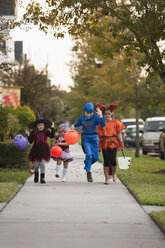Children going trick or treating - ISF14338