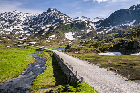 Switzerland, Canton of Uri, Tremola, Gotthard Pass - STSF01645