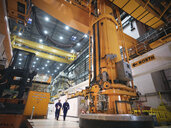 Charger machine in reactor hall of nuclear power station - CUF35525