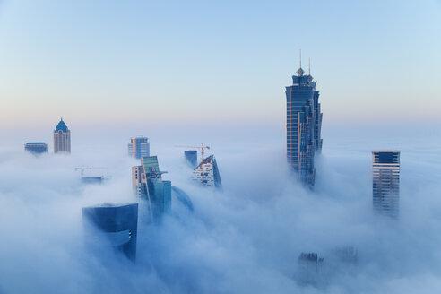 Downtown Dubai at dawn, United Arab Emirates - CUF35573