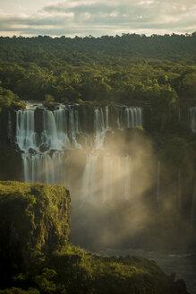 View of Iguazu falls and forest, Parana, Brazil - CUF35663