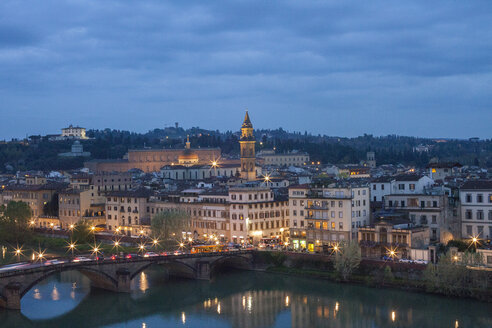 View of the River Arno, Florence, Italy - CUF35672