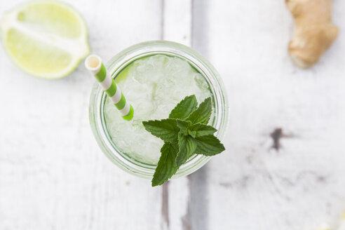 Lime mint ginger lemonade - LVF07171