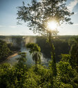 Distant view of Iguazu falls, Parana, Brazil - CUF35953