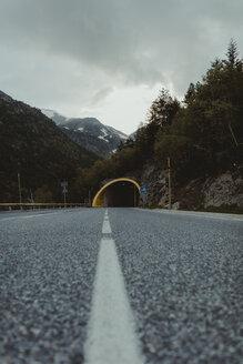 Andorra, empty country road - OCAF00334