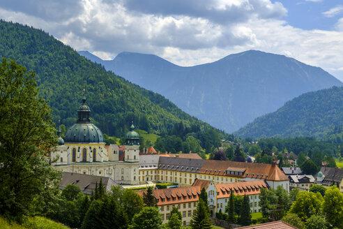 Germany, Upper Bavaria, Ammergau Alps, Benedictine Abbey Ettal - LBF01966