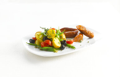 Mediterranean potato salad with Chorizo - KSWF01916