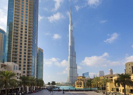 Downtown Dubai, Burj Khalifa, United Arab Emirates - ISF15414