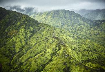 USA, Hawaii, Kauai, Na Pali Coast scenic, aerial view - CVF00920