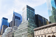 Office buildings and skyscrapers in financial district, Manhattan, New York, USA - ISF15738