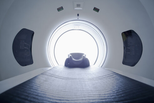Inside of CT scanner - ISF15780