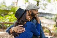 Happy couple hugging - ISF16257