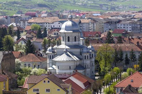 Rumania, Bistrita, townscape - MABF00479