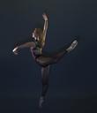 Poised female ballet dancer - CUF41251