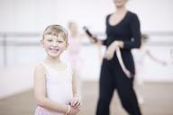 Portrait of mischievous young ballerina - CUF41579