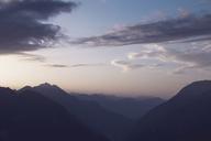 Switzerland, Ticino, Airolo, morning mood at Gotthard Pass - DWIF00932