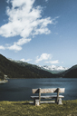 Switzerland, Grisons, Surses, Marmorera reservoir - DWIF00944