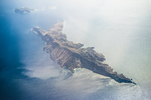 Aerial view Greek Islands in Aegean Sea - CUF41707