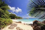 Secluded beach, Praslin Island, Seychelles - CUF41713