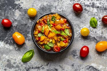 Bowl of tomato basil dip - SARF03851
