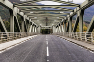 UK, Scotland, steel bridge along the A82 in Scotland - WPEF00684