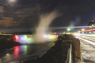 Canada, Ontario, Niagara Falls at night - WPEF00699