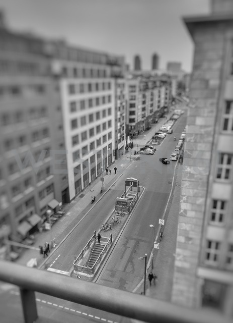 top view at Friedrichstr., Berlin, Germany - NGF00455 - Nadine Ginzel/Westend61