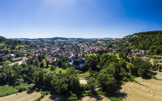 Germany, Hesse, Wetterau, Budingen with Budingen castle - AMF05826