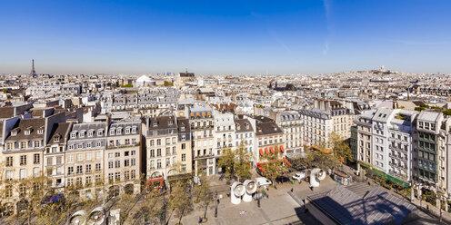 France, Paris, Place Georges-Pompidou - WDF04729