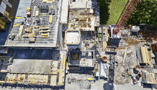Construction site, view from above - CVF00979