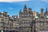 UK, Scotland, Edinburgh, historical facades - THAF02184