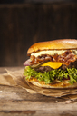 Cheese Bacon Burger - NAF00102