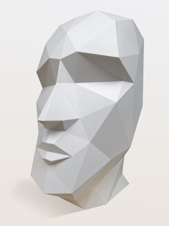 Grey head, 3D Rendering - KLR00635