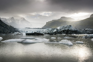 Iceland, South of Iceland, Breidarlon, Joekulsarlon glacier lake - DMOF00067