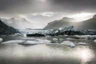Iceland, South of Iceland, Breidarlon, Joekulsarlon glacier lake - DMOF00067