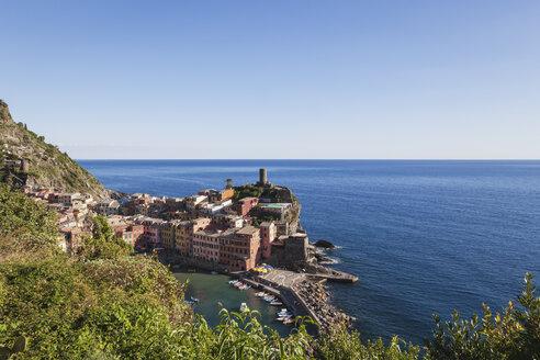 Italy, Liguria, Cinque Terre, Vernazza - GWF05589