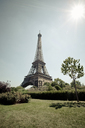 Eiffel Tower overlooking park - ISF17639