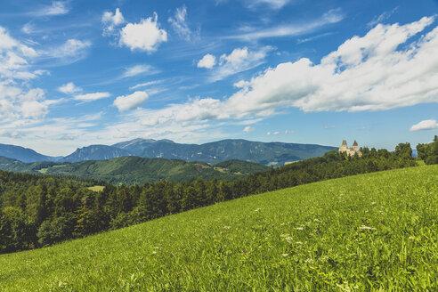 Austria, Lower Austria, Neunkirchen District, Burg Wartenstein - AIF00529
