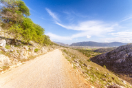 Spain, Andalucia, country road above the Zaffaraya valley - SMAF01104