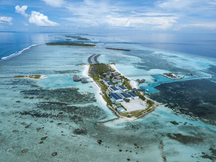 Aerial view of Maldives - KNT01155