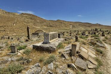 Azerbaijan, Gobustan, grave yard at Gobustan National Park - FPF00188