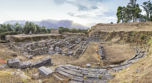 Greece, Peloponnese, Laconia, Sparta, amphitheatre - MAMF00169