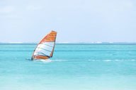 Mauritius, Grand Port District, Pointe d'Esny, sail boarder - MMAF00428
