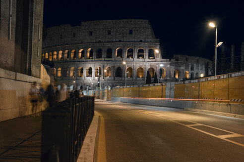 Italy, Rome, Colosseum at night - BZF00437