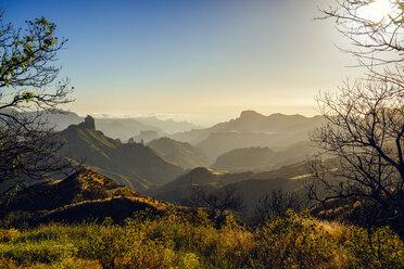 Spain, Canary Islands, Gran Canaria, mountain landscape - KIJF01984