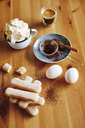 Ingredients for preparing Tiramisu - BZF00439